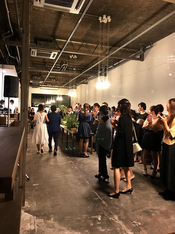 レンタルスペース 例 - 結婚式2次会・ウエディングパーティ