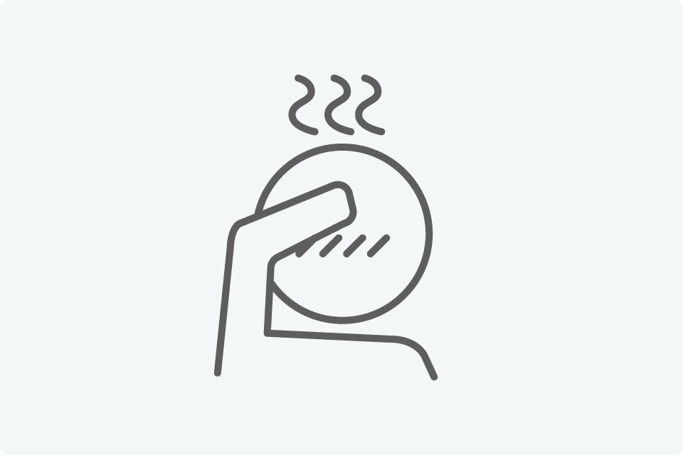 発熱の症状等ある場合は… - 新型コロナウイルス感染拡大予防におけるKinco.の取り組み