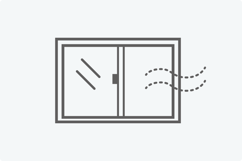 施設内の定期的な換気 - 新型コロナウイルス感染拡大予防におけるKinco.の取り組み